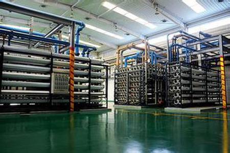 新加坡裕廊岛石化工业园区再生水厂