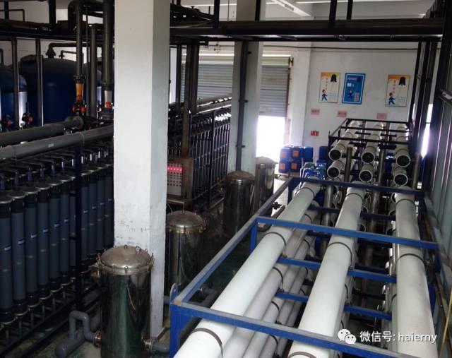 青岛新世纪环境工程运营的海尔工业园污水站水质良好