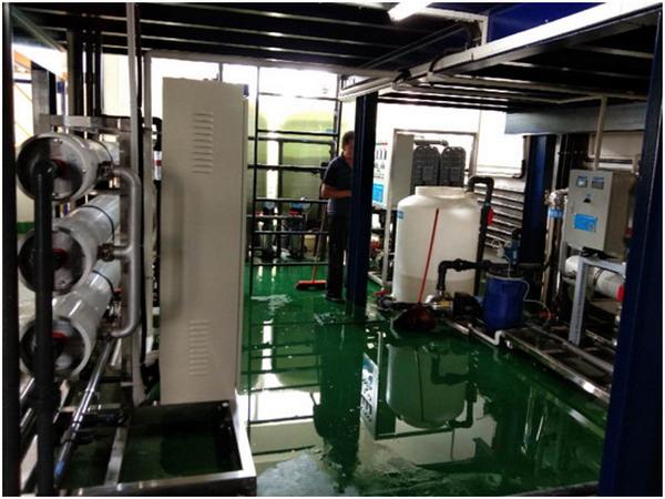 江门天淼为宁波电镀方法操作EDI水处理设备已企业天际线安装城市图片