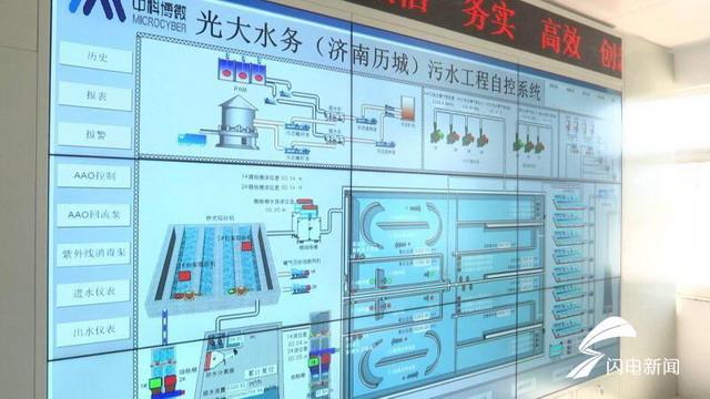 光大水务建成济南市首个全地下式水质净化厂投入运营