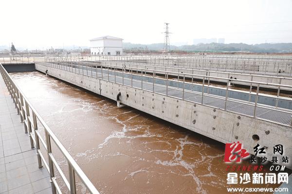 长沙经开区城西污水处理厂一期工程出水标准地表准Ⅳ