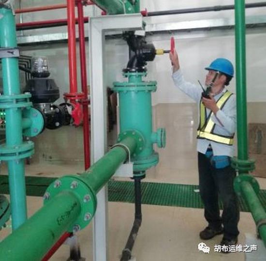 巴基斯坦中电胡布电站项目化学制水制出合格的除盐水