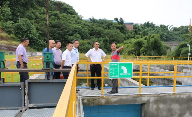 自贡市自流井区舒坪镇污水厂建成以来排放水稳定达标
