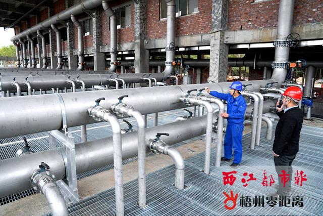 梧州市第一污水处理厂提标改造系统已全线通水试运行