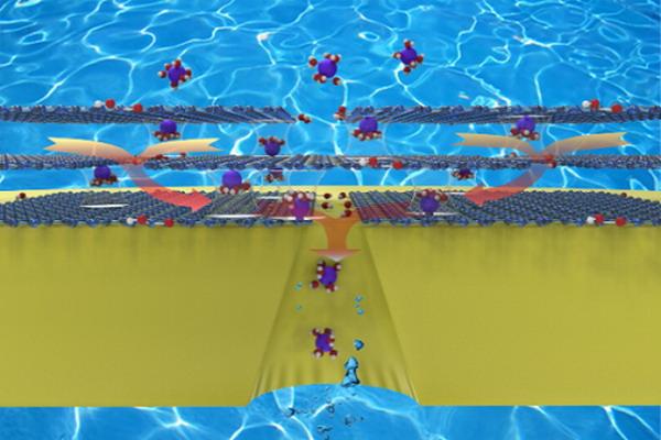 中科院在纳米孔的离子选择性增强传输方面取得新进展