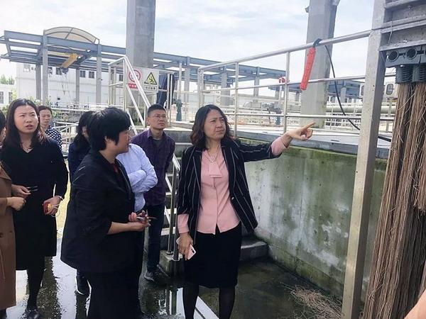 实地调研第五、六净水厂成都排水领导践行一线工作法