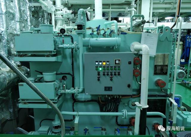 见识一下执行科考任务的远洋船舶上生活污水处理装置