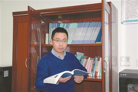 台国安,37岁,南京航空航天大学副教授,在机械结构力学及控制国家重点实验室工作