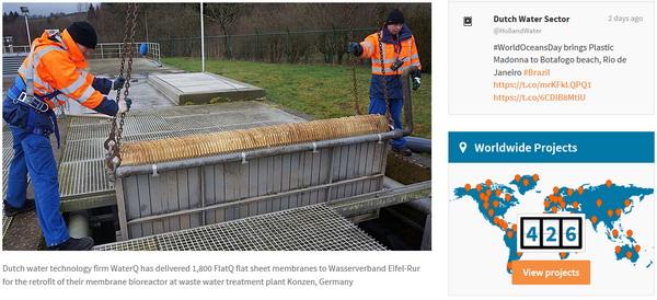 中国制造屡获亲睐斯纳普平板膜被德国孔岑污水厂选用