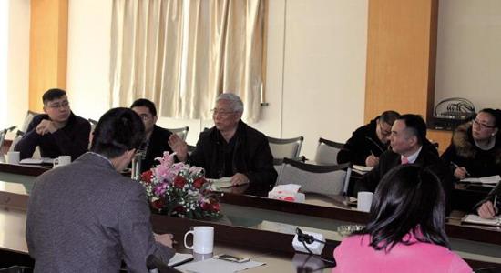 高从堦院士出席朝晖2015年院士专家工作站总结会