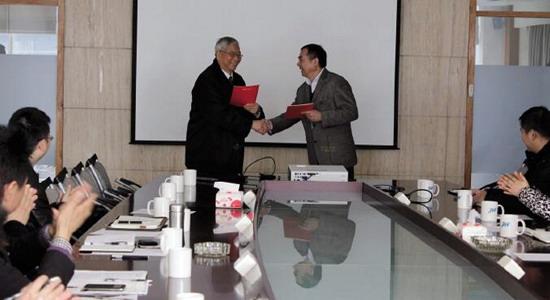 朝晖与浙江工业大学共建膜材料联合研发中心签约仪式
