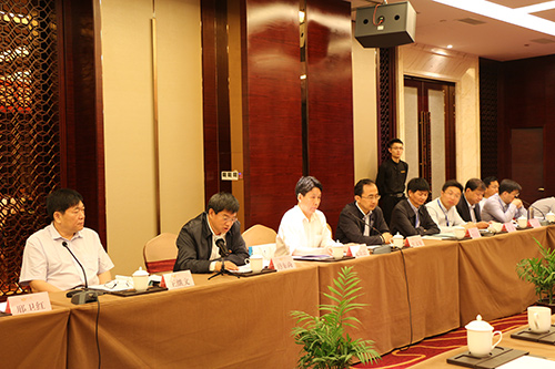 招金集团董事长为膜协会常务理事会五届六次会议致辞