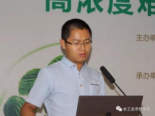 烟台金正环保科技有限公司研发部部长李国亮