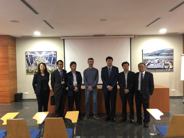 中国膜工业ballbet登录代表团应邀前往巴塞罗那考察海水淡化