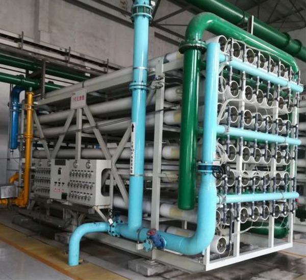 好世环境为华润电力阜阳电厂膜系统更换膜元件并培训